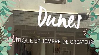 La boutique éphémère Dunes au Pouliguen a ouvert ses portes pour la 3ème saison